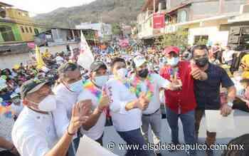 Recibe Moreno Arcos adhesiones de Morena y MC en Tierra Colorada - El Sol de Acapulco