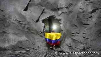 Culminan excavaciones en el túnel de Amagá - El Espectador