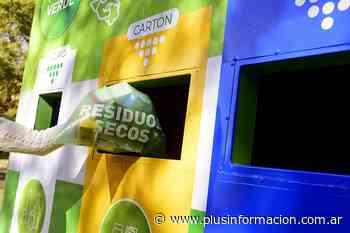 La Plata: El Municipio inauguró un nuevo punto fijo de reciclaje en Villa Castells - PlusInformacion
