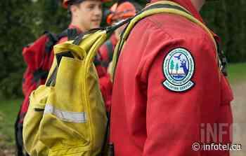 Wildfire near Naramata being held by firefighters | iNFOnews | Thompson-Okanagan's News Source - iNFOnews