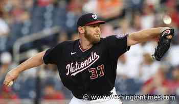 Strasburg returns, pitches into 6th, Nats beat Orioles 4-2