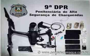 Policiais penais interceptam arremessos de ilícitos por drone em Penitenciárias de Charqueadas - Portal de Camaquã