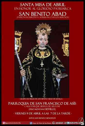 Hoy, santa misa de Abril en honor a San Benito Abad - Arte Sacro