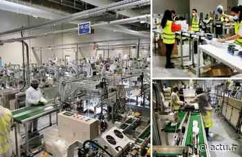 Seine-et-Marne. L'usine Iris Ohyama de Lieusaint vise les 60 millions de masques par mois - actu.fr