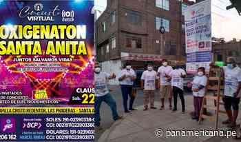 Santa Anita: Vecinos y sacerdote organizan el 'Gran Oxigenatón' para comprar planta de oxígeno medicinal | Panamericana TV - Panamericana Televisión
