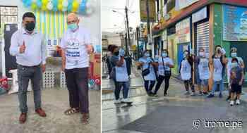 Vecinos y sacerdote organizan el 'Gran oxigenatón de Santa Anita' - Diario Trome