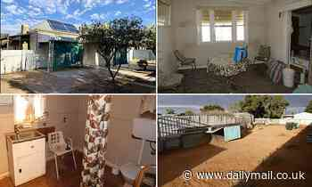 Broken Hill home with backyard costs under $60,000 - making it cheapest free-standing house in NSW - Daily Mail