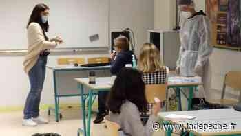 330 collégiens volontaires pour les tests salivaires à Aussonne - ladepeche.fr