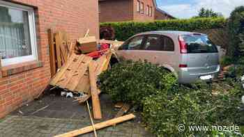 Mit Auto gegen Hauswand gefahren: Schwerer Unfall in Spelle - NOZ