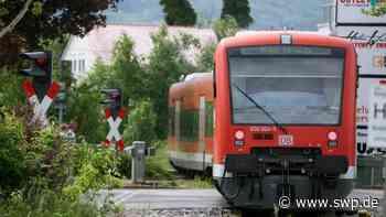 Ermstalbahn zwischen Metzingen und Bad Urach: Ab 25. Mai wegen Bauarbeiten außer Betrieb - SWP