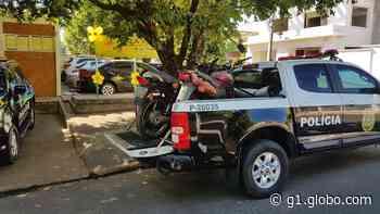 Motocicletas furtadas há cerca de 5 anos em Dracena são recuperadas pela Polícia Civil - G1