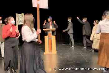 Steveston-London students re-connect with drama club alumni in virtual show - Richmond News