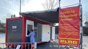 Waldkraiburg: Auch über Pfingsten kann man bei der DLRG einen kostenlosen Corona Schnelltest machen - innsalzach24.de