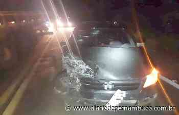 Caminhonetes se chocam em Pesqueira deixando motorista com escoriações - Diário de Pernambuco