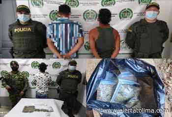 ¡Jíbaros! Capturan a tres personas por comercializar estupefacientes en Planadas - Alerta Tolima