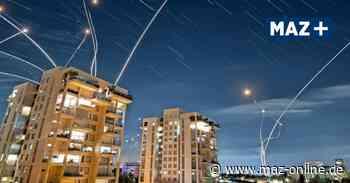 Von Kleinmachnow zurück nach Israel: Raketenangriffe der Palästinenser auf Tel Aviv - Märkische Allgemeine Zeitung
