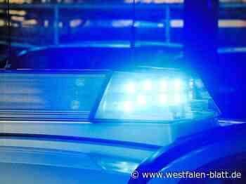 Polizei rückt mit Großaufgebot aus - Westfalen-Blatt