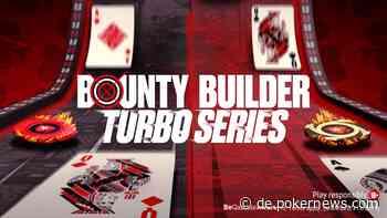Schnelles Poker und hohe Bounties bei der PokerStars Bounty Builder Turbo Series