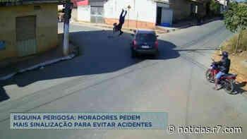 Moradores de Matozinhos (MG) cobram sinalização em cruzamento - HORA 7