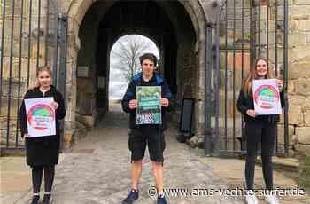 Jugendhaus Bad Bentheim beteiligt sich am Klimastreik Jugendliche planen Aktion auf dem Bentheimer Wochenmarkt. Foto - Ems Vechte Surfer