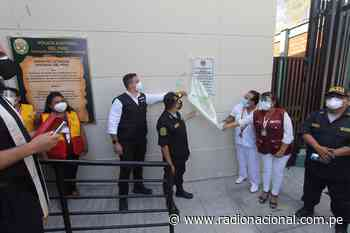 Ministerio del Interior inaugura nueva comisaría en Catacaos - Radio Nacional del Perú