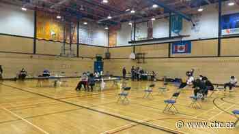 Pfizer-BioNTech vaccine clinics held in Yellowknife schools - CBC.ca