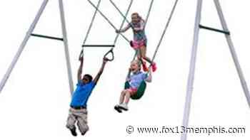 Leisure Time Products recalls more than 9000 swing sets - FOX13 Memphis