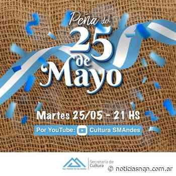 San Martin de los Andes tendrá este 25 de mayo una 'Peña virtual' - Noticias NQN