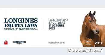 Equita Longines à Eurexpo (69) Eurexpo mercredi 27 octobre 2021 - Unidivers