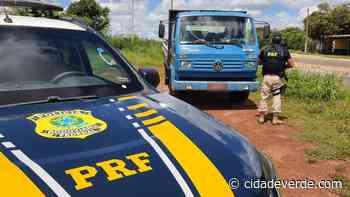 Homem é preso em Parnaíba com caminhão roubado - Parnaiba - Cidadeverde.com