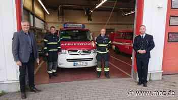 Feuerwehr Hoppegarten: Brüderpaar ist neue Ortswehrspitze in Dahlwitz-Hoppegarten - moz.de