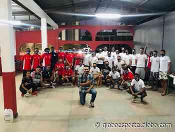 Elenco do Araguari sub-20 participa de palestra com ex-jogador Ceará - globoesporte.com