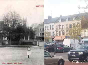 Breteuil. 100 ans séparent ces photos prises au même endroit - Le Réveil Normand
