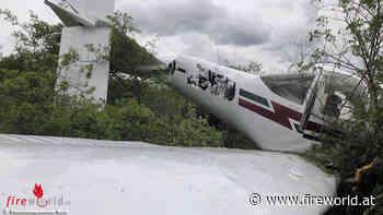 D: Absturz eines Leichtflugzeuges in Schwarzdornenfläche in Bad Sobernheim → zwei Verletzte - Fireworld.at