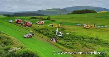 Kleinflugzeug in Bad Sobernheim abgestürzt - mit Video - WochenSpiegel
