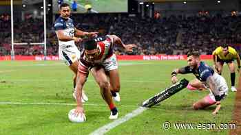 NRL Sydney Roosters rally after North Queensland Cowboys comeback - ESPN