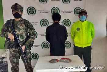¡Mira ve! Cogieron al 'Caleño' cargadito de marihuana en Alpujarra - Alerta Tolima