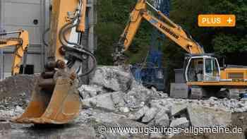Letzte Einblicke: Die Pyrolyseanlage in Burgau wird abgerissen - Augsburger Allgemeine