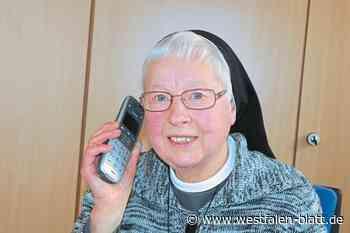 Schwester Maria Thiede aus Stemwede steht Sterbenden und ihren Angehörigen bei: Die gute Seele in den schwersten Stunden - Stemwede - Westfalen-Blatt
