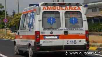 Calcinato, anziano cade vicino alla stazione: è grave. Soccorso - QuiBrescia.it