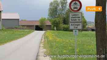 Radwegraser bei Egenhofen sollen ausgebremst werden - Augsburger Allgemeine