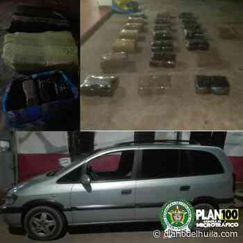 Capturados transportando 100 kilos de marihuana en Yaguará - Diario del Huila