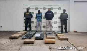 Incautado cargamento de marihuana en inmediaciones de Yaguará - Huila
