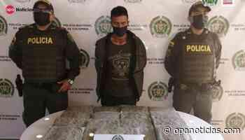 Capturados en Yaguará por los delitos de tráfico, fabricación o porte de estupefacientes - Opanoticias