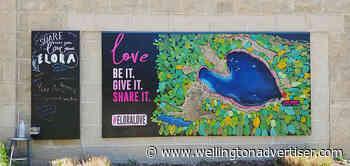 New mural at Elora arts centre - Wellington Advertiser