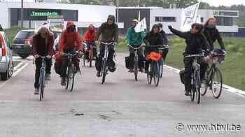 Protest tegen komst van grootste gascentrale van het land in Tessenderlo - Het Belang van Limburg