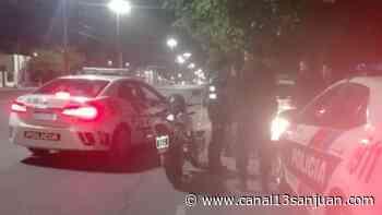 Durmieron en el calabozo tras hacerse los 'cancheros' en la vía pública - Diario 13 San Juan