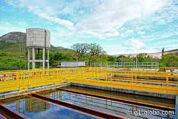 Avança obra de ampliação e melhoria do abastecimento de água em Jacobina - G1