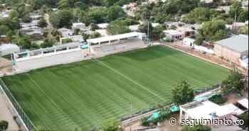 Cancha de fútbol de Ariguaní, a punto de ser entregada a la comunidad - Seguimiento.co