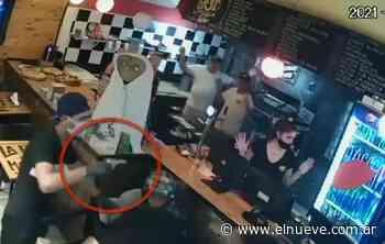 4 delincuentes saquearon una pizzería en Gerli - Policiales TL9, TL9 Noticias (Clips) - El Nueve - telenueve
